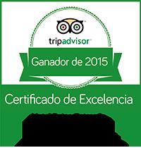 Certificado Excelencia Tripadvisor Palafox
