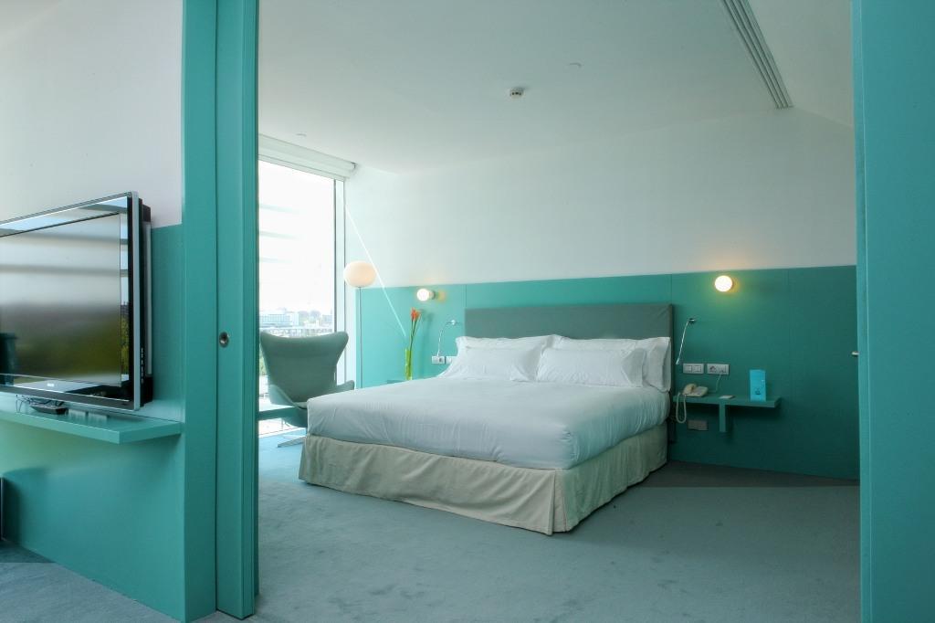 Habitaciones hotel hiberus palafox hoteles for Habitaciones zaragoza