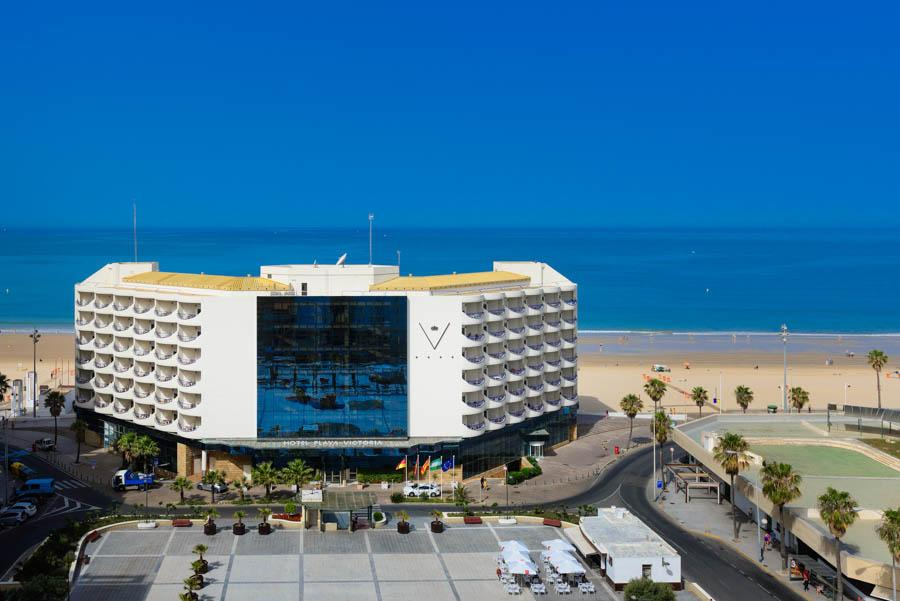 Playa Victoria Hotel . 4-Sterne Hotel in Cadiz. | Hotel ...