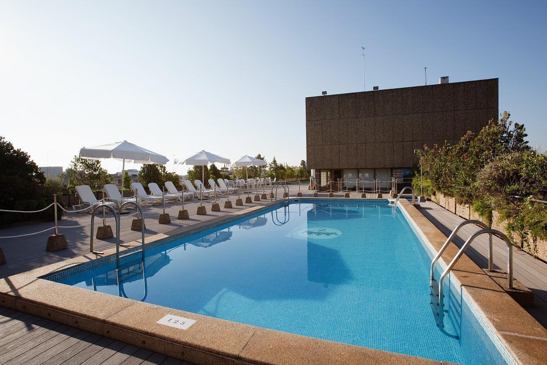 Piscina y gimnasio palafox hoteles for Piscinas climatizadas zaragoza