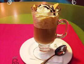 cafe de turrón