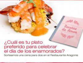 Concurso Recetas de Amor Restaurante Aragonia