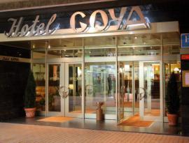 Fachada hotel Goya