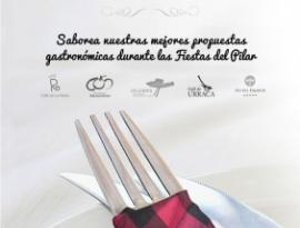 Menús y restaurantes para las Fiestas del Pilar 2014