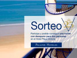 Sorteo 25º Aniversario del Hotel Playa Victoria