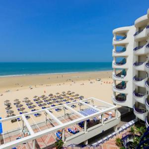 Vista Hotel Playa Victoria Cádiz