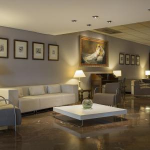 Hotel Goya Zaragoza centro: Hall vista 3