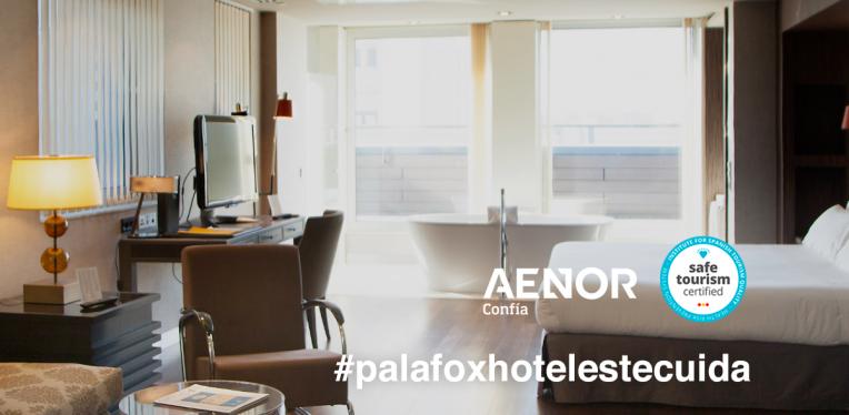 Palafox Hoteles te cuida