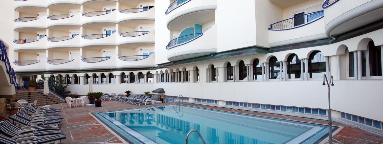 hotel playa victoria 4 estrellas en c diz capital On hoteles en cadiz con piscina