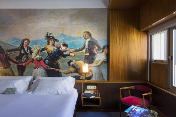 Hotel Goya Zaragoza Chambre