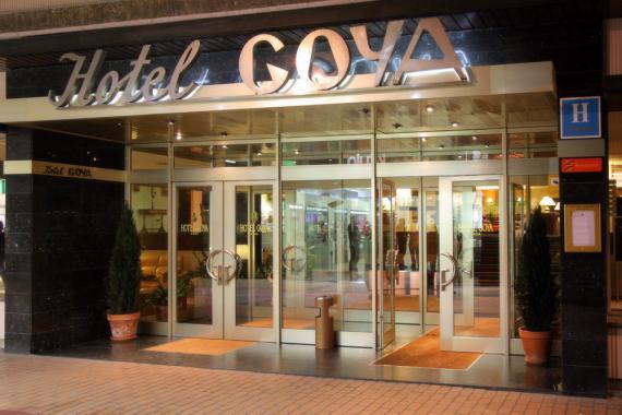 Hotel Goya Centro Zaragoza con Parking