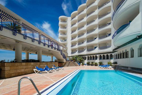 Piscina Hotel Playa Victoria Cádiz