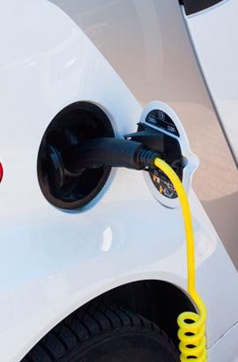 Ladegeräte für Elektroautos bei Reina Petronila