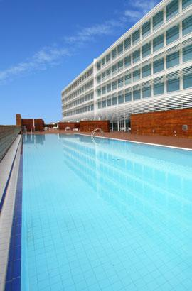 Swimming pool Hotel  Hiberus