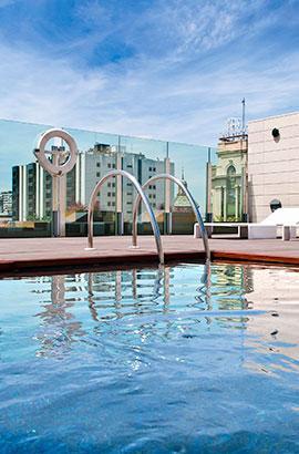 Piscina piscina Hoteles Zaragoza