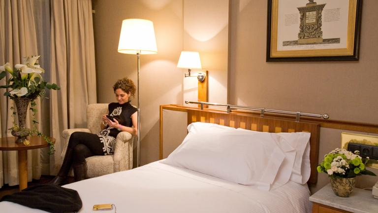 Chambres Hotel Palafox Zaragoza