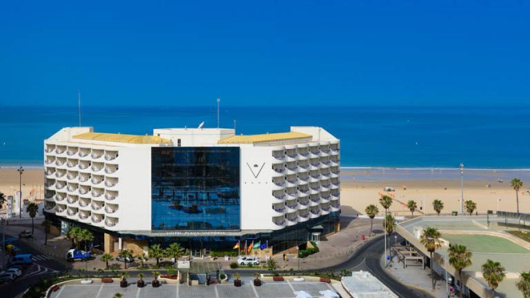 Hotel Playa Victoria Cádiz: vista aérea