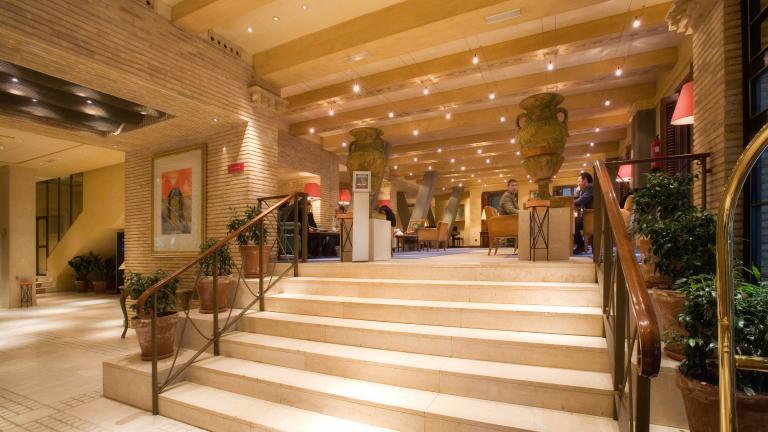 Hotel Palafox Zaragoza capital: Hall 2