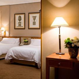 Habitación Hotel Palafox Zaragoza