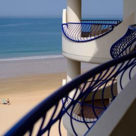 Terraza Hotel Playa Victoria Cádiz