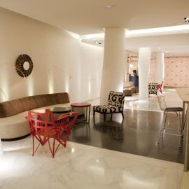 Hotel Alfonso Zaragoza: Lobby