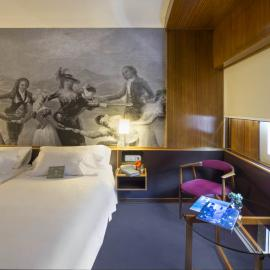 Zimmer Hotel Goya Zaragoza