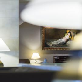 Hotel Goya Zaragoza centro: Hall vista 2
