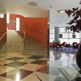 Hotel Reina Petronila Zaragoza - Detalle recepción