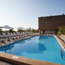 Piscina Hotel Palafox Zaragoza