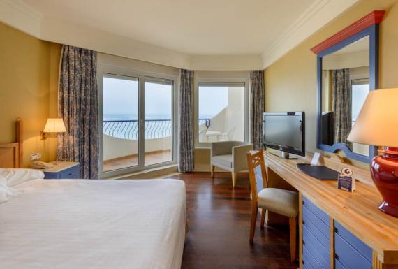 Hotel Playa Victoria Cádiz Zimmer