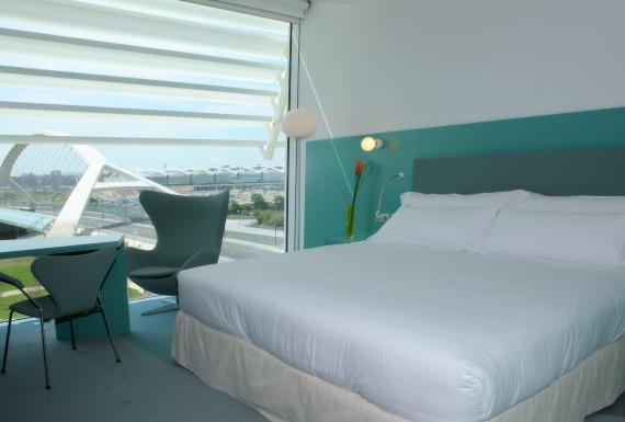 Junior suites Hotel Hiberus Zaragoza